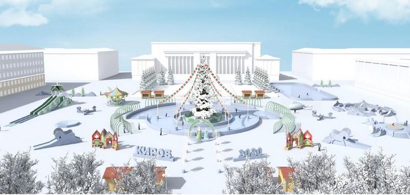 Стало известно, когда начнется украшение Театральной площади