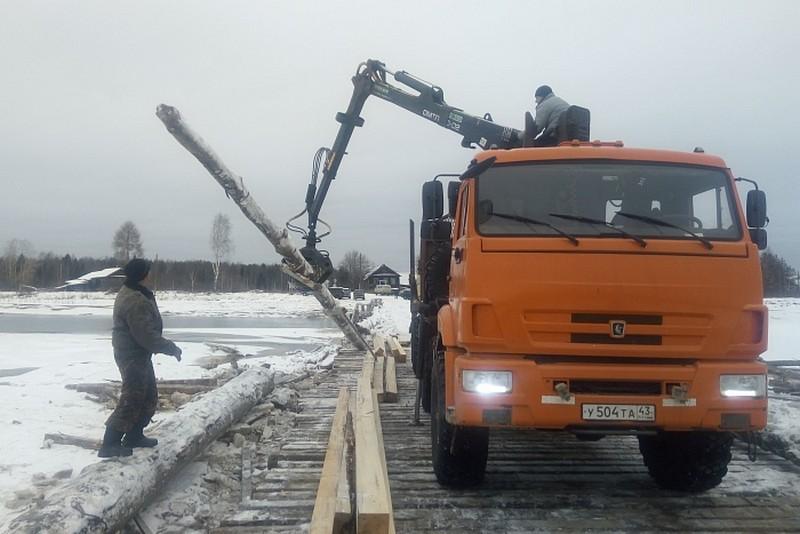 В Кировской области уже восстановлено большинство мостов, повреждённых паводком