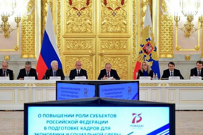 Игорь Васильев доложил главе государства о развитии среднего профессионального образования в субъектах РФ
