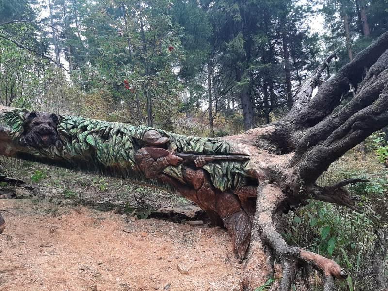 Умелец из глубинки Кировской области удивляет своими творениями из деревьев