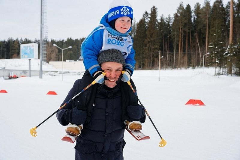 «Перекоп» принял всероссийскую массовую лыжную гонку