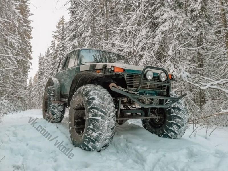 Житель Кировской области собрал суперавтомобиль (+ФОТО)