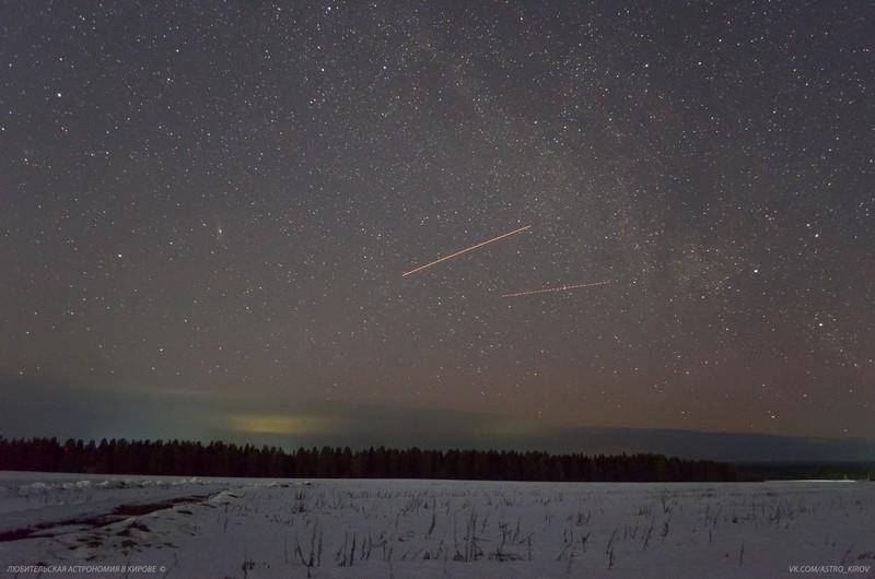 Кировчан разочаровало увиденное в ночном небе