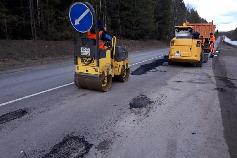 На трассе Кострома – Шарья – Киров – Пермь начался дорожный ремонт