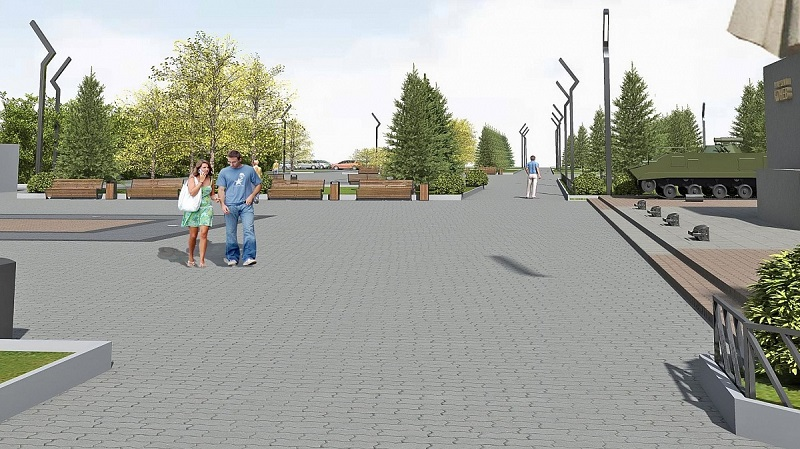 Разработан проект преобразования площади Маршала Конева