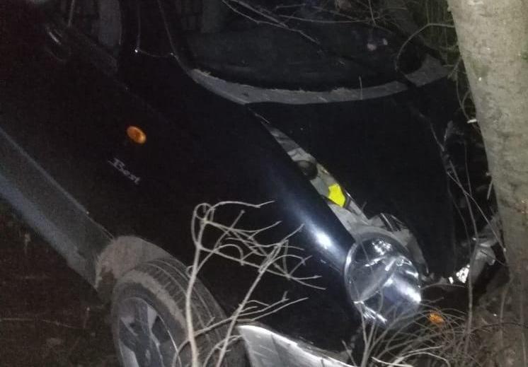 """dtp orichevskiy rayon 1 На трассе пьяная женщина на """"Матизе"""" врезалась в дерево"""
