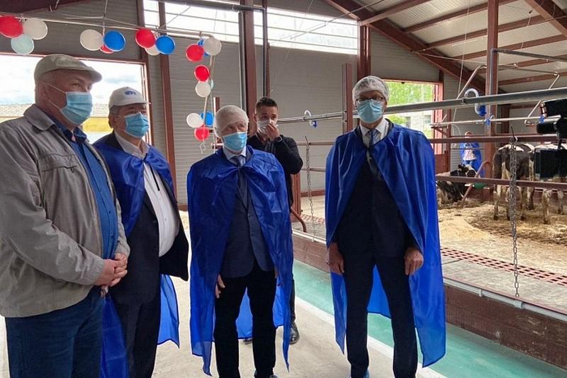 В Кировской области начала работать новая ферма