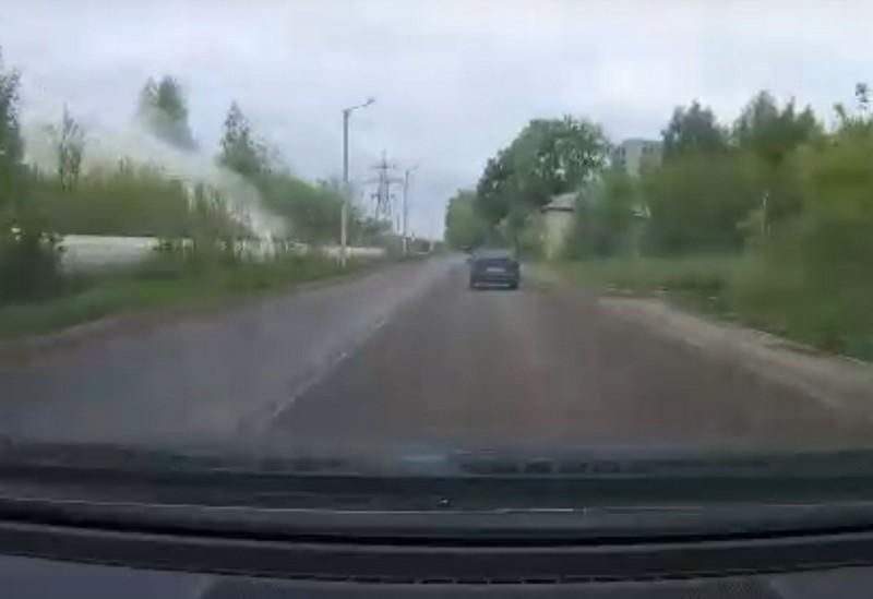 Кировчане увидели коммунальный гейзер