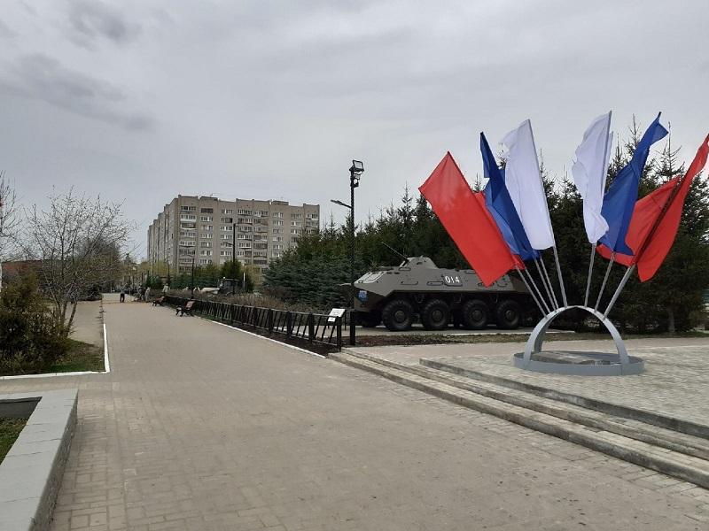 На площади Конева завершается первый этап благоустройства