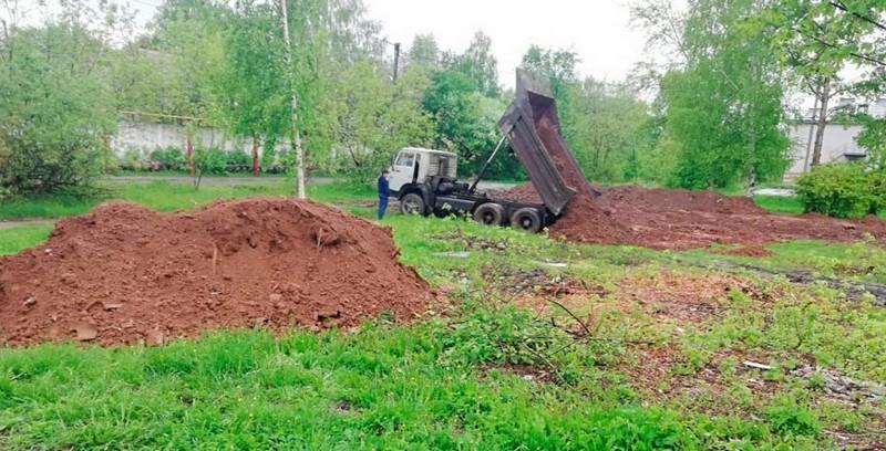 lyangasovo stroitelstvo parka1 В Лянгасово появится Парк семейного отдыха