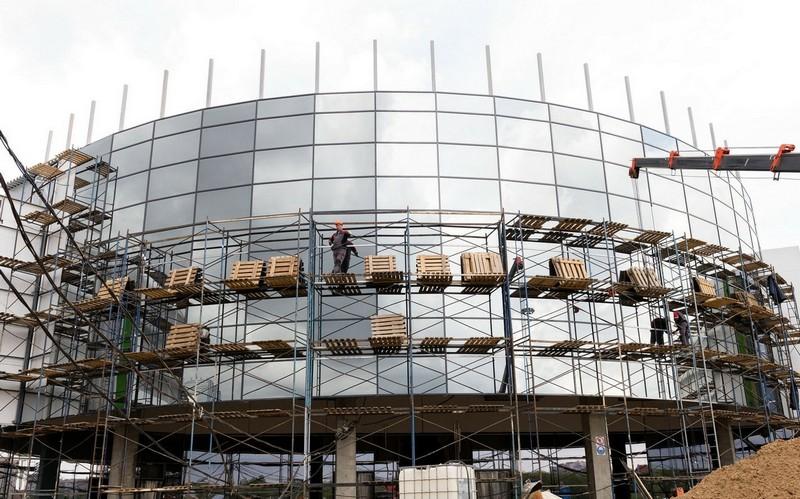 Кировчанам рассказали о том, как идут дела на стройплощадке ТРЦ «Макси»