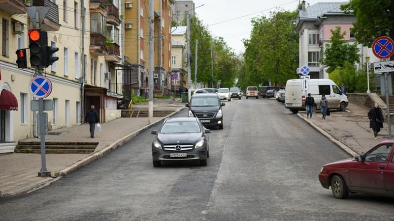 molodaya gvardiya ulitsa В Кирове отремонтировали улицу, основанную более 200 лет назад