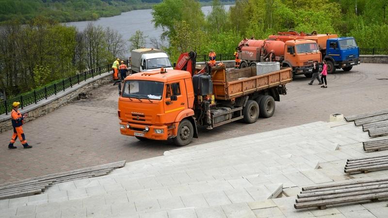 naberezhnaya grina На набережной Грина отремонтировали ливневую канализацию