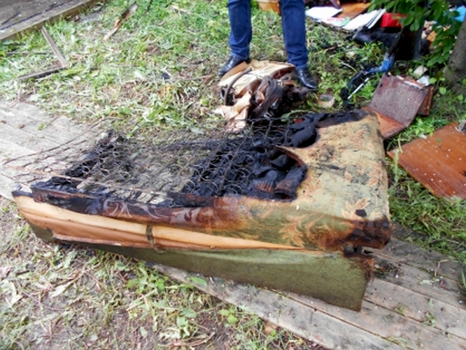 pozhar v slobodskom В Слободском в пожаре погибла женщина