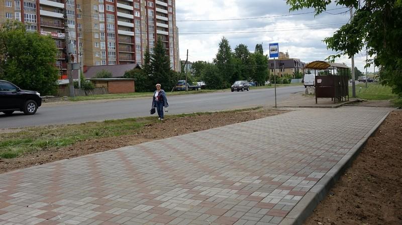 Принят в эксплуатацию проезд от улицы Ленина к инфекционной больнице