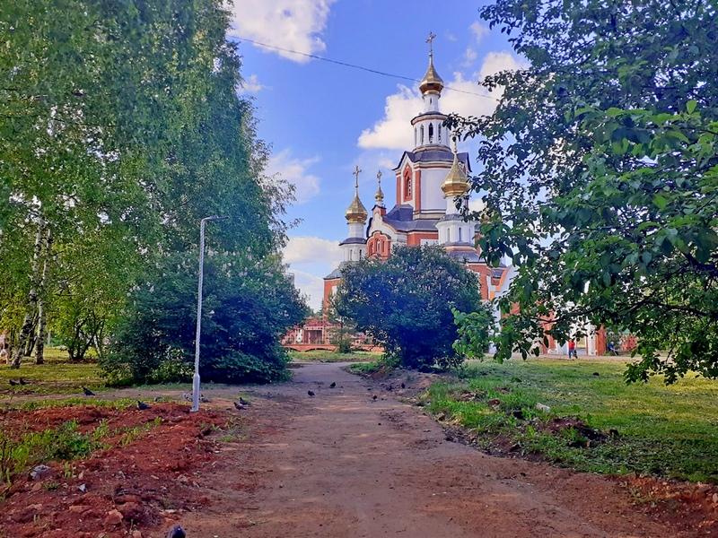 kirov park lomonosova hram В Кирове опять похолодает