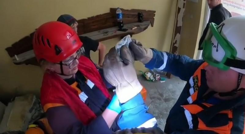 Уроженец Кировской области чудом выжил, когда на него рухнула стена