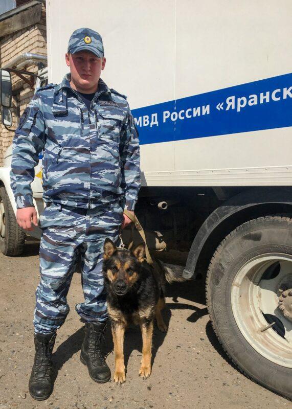 В Кировской области собака помогла раскрыть преступление