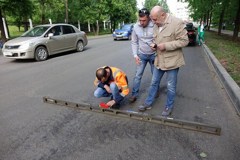 В Кирове отремонтирована дорога на улице Азина