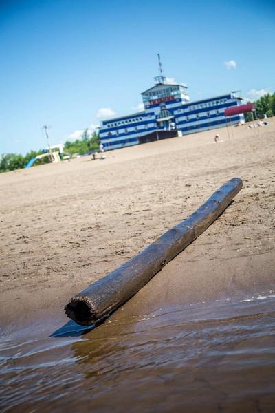 """Водолазы, работающие на городском пляже, сообщили об """"улове"""" (+ФОТО)"""