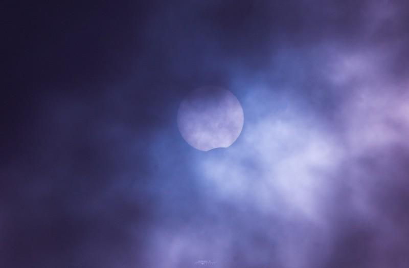 Кировчанам удалось запечатлеть редкое солнечное затмение