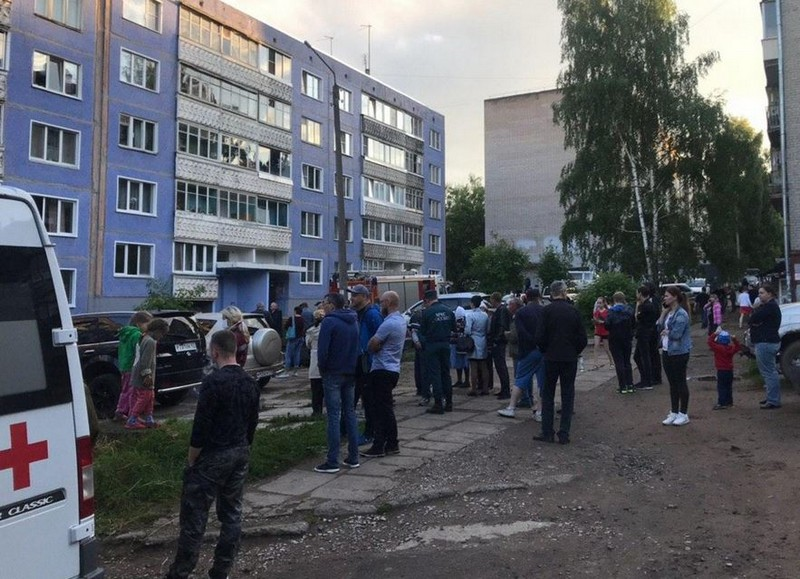 В Кирове в многоэтажке произошёл взрыв газа (+ВИДЕО)