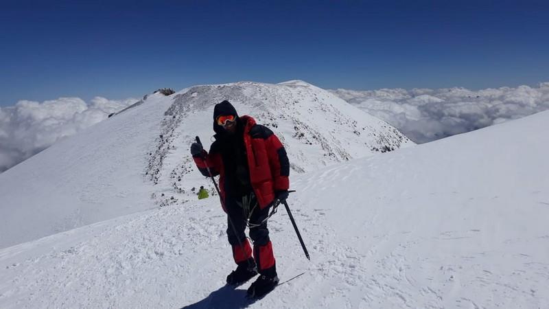 Житель Кировской области покорил самую высокую горную вершину страны (+ФОТО)