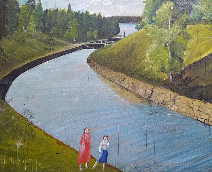 В глубинке Кировской области найдены картины из прошлого