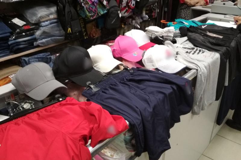 В Нижнеивкино пресечена торговля товарами с признаками подделки