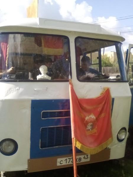 Кировчанин осуществил свою мечту и открыл музей в автобусе
