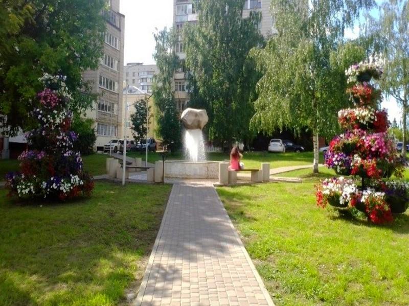 В Кирове отремонтировали необычный фонтан