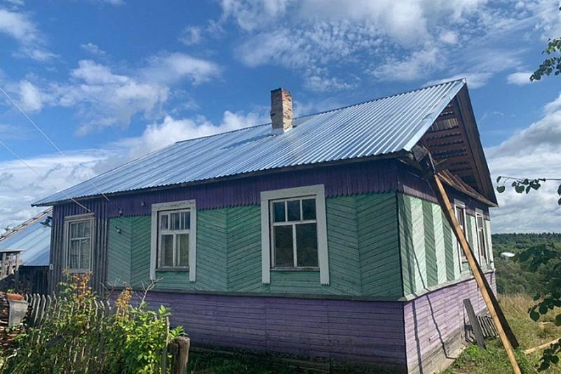 В селе Лойно почти завершён ремонт жилья, пострадавшего от смерча