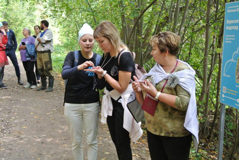 В Кировской области появилась экотропа «Вятская Швейцария»