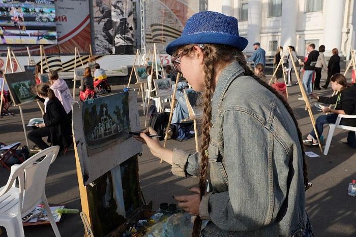 В Кирове состоялся необычный арт-флэшмоб
