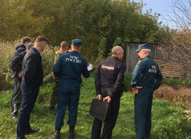 В Кировской области под землю провалился дом