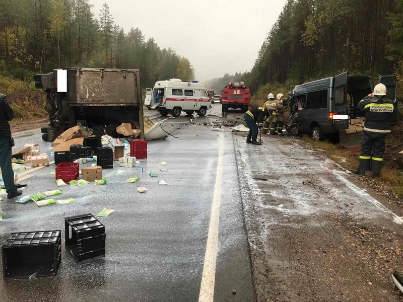 Возбуждено уголовное дело по факту аварии на трассе Киров — Советск