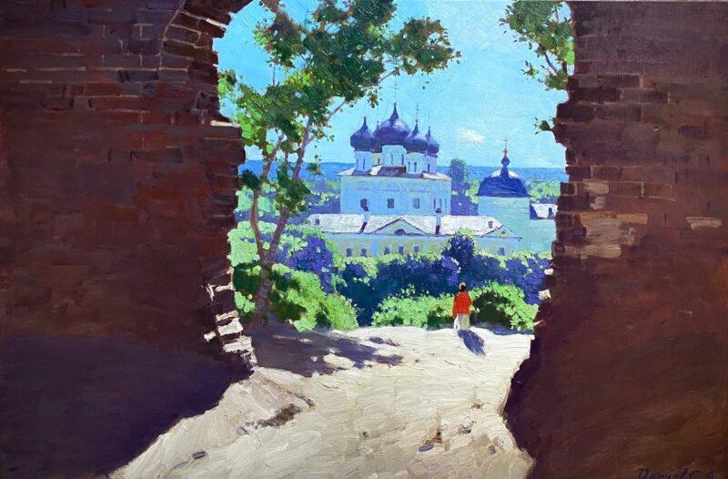 Новый кировский арт-объект привлёк внимание питерского художника