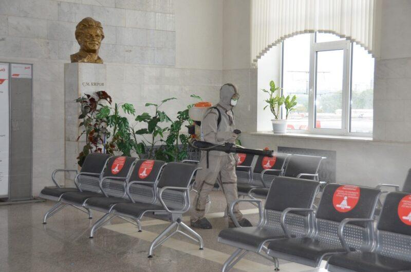 На кировском железнодорожном вокзале прошла комплексная дезинфекция
