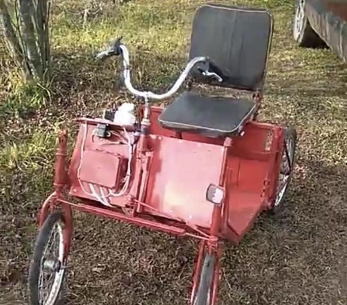 Умелец из Кировской области создал самоходный транспорт из велосипедов