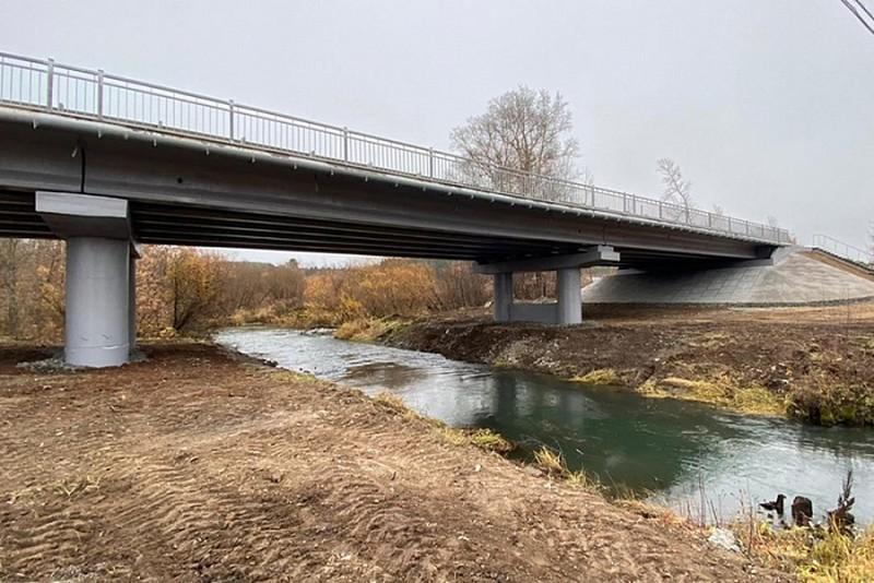 В Сунском районе отремонтирован 33-летний мост
