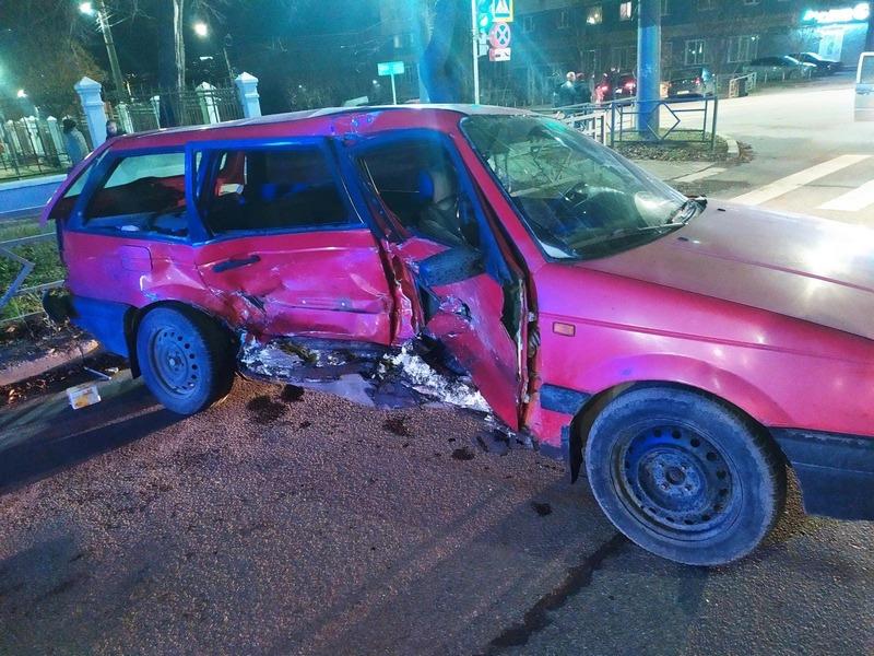 5 человек получили травмы в аварии на улице Московской