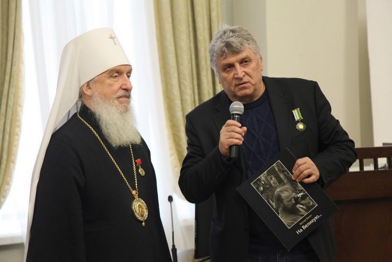 Журналист «Кировской правды» Виктор Бакин стал лауреатом православной литературной премии