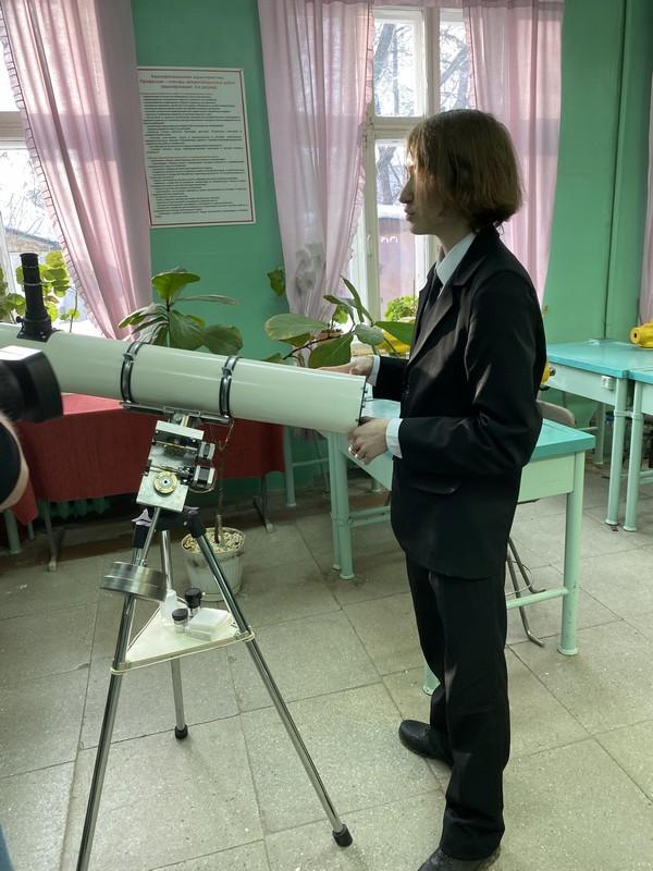 teleskop12 Чепецкий школьник сам сделал настоящий телескоп