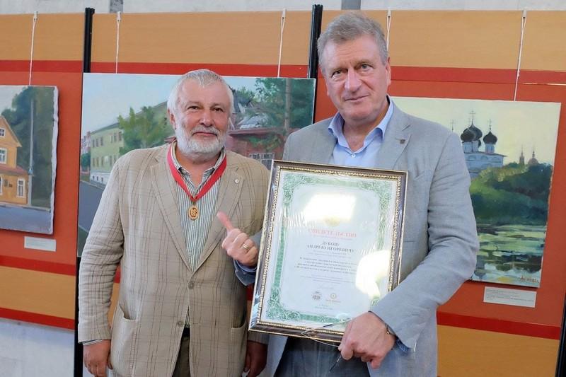 Anton Stekolschikov i Igor Vasilev Выбран лучший художник Всероссийского Васнецовского пленэра-2021