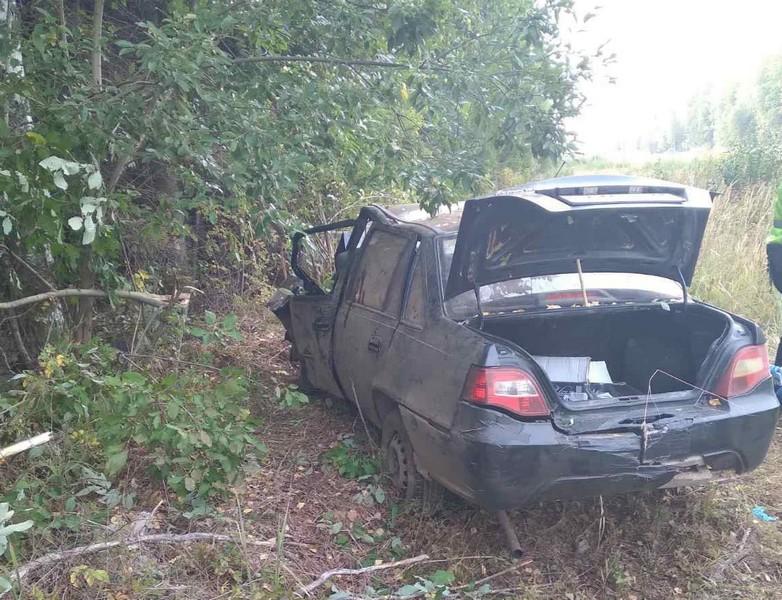 "На трассе ""Вятка"" погиб 18-летний пассажир Daewoo"