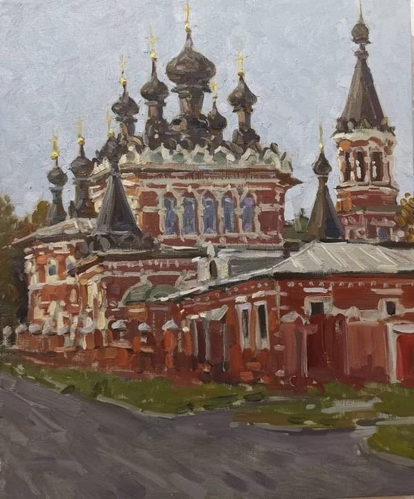Художник, учивший губернатора Кировской области рисовать, выкладывает картины в Instagram