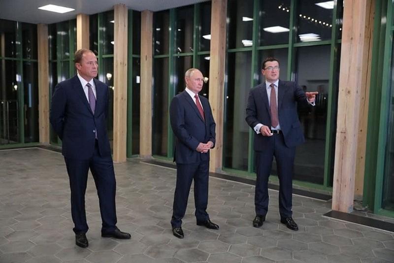 Президент России принял участие в мероприятиях, посвящённых 800-летию Нижнего Новгорода
