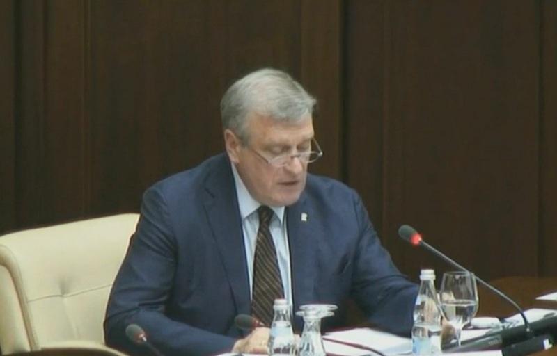 Vasilev gossovet Игорь Васильев выступил с предложениями на Госсовете по образованию