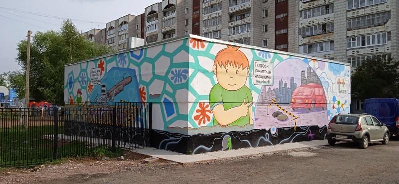 art obekt Кировский художник превратил здание в арт-объект