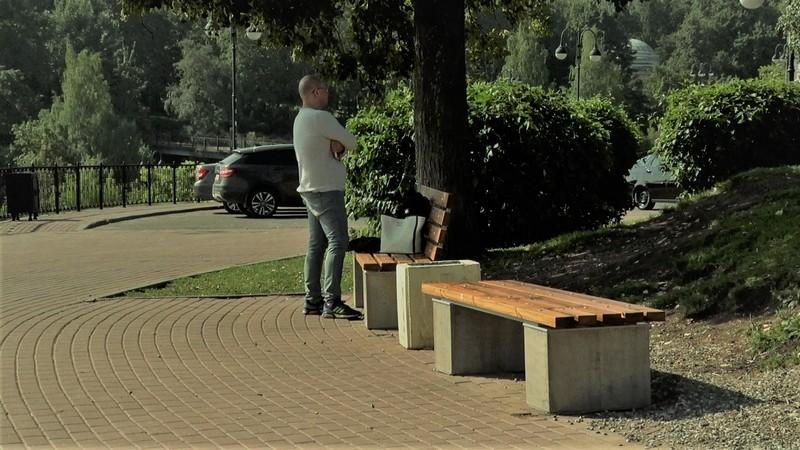 Сияние новой кировской скамейки